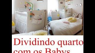Dividindo quarto de casal com o Bebe