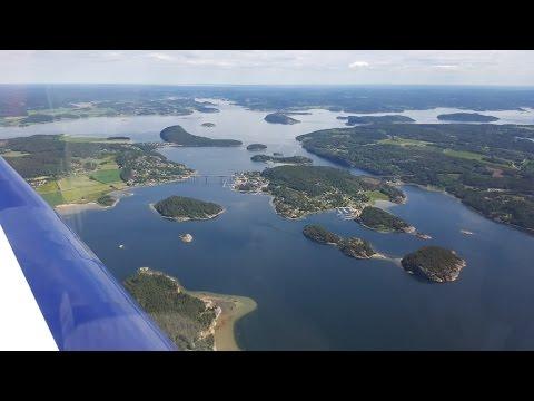 Sandefjord Torp ENCN in Norway to Jönköping ESGJ in Sweden