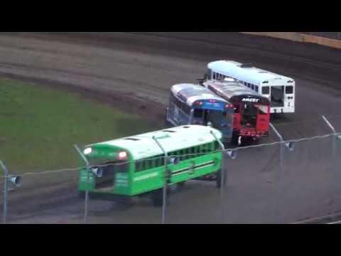 Cedar Lake Speedway Bus Night Heat Race - 05/11/2019