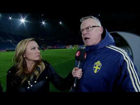 Janne Anderssons ilsk på domaren efter Rumänien-matchen - TV4 Sport