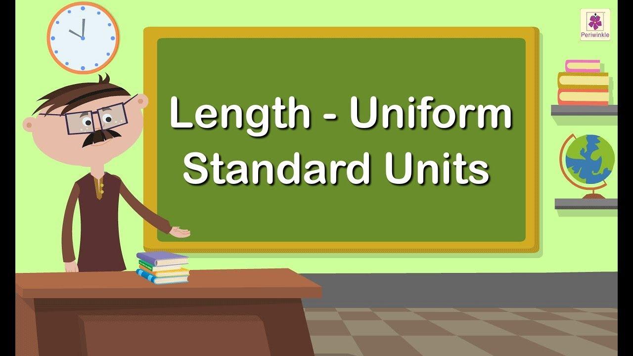 Download Length - Uniform Standard Units | Mathematics Grade 1 | Periwinkle
