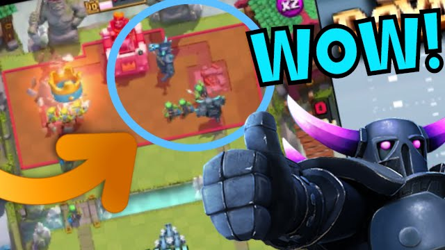 Clash royale best pekka deck for arena 4 7 pekka for Deck pekka arene 6