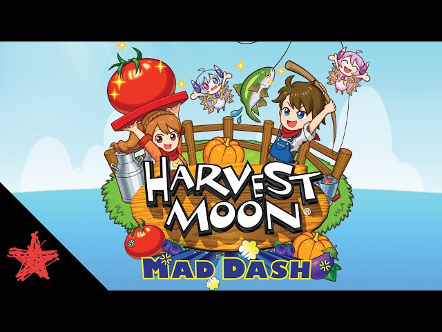Harvest Moon: Mad Dash - Launch Trailer | Rising Star Games