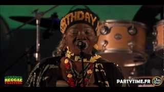 I-THREES Feat RITA MARLEY - LIVE at Garance Reggae Festival 2012 HD by Partytime.fr