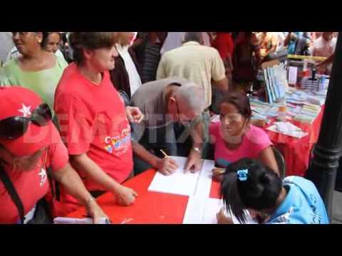 Video: Venezuelans protest against Obama's sanctions on leaders