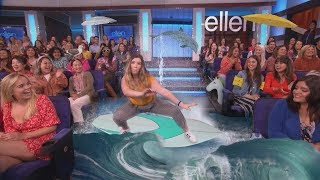 Ellen's Audience Dancers Get a Boost with Special Effects