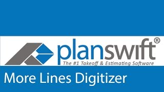 Adding More Lines to a Segment Digitizer Item in PlanSwit