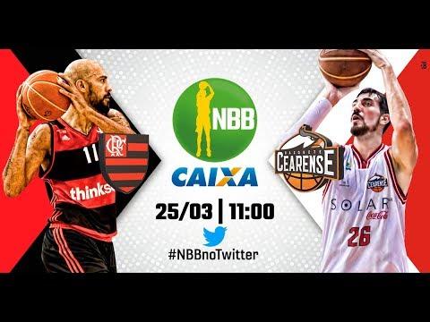 Flamengo 87 x 85 Basquete Cearense   25.03.2018   #NBBnoTwitter
