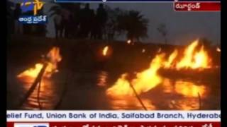 Methane Gas Leakage Creates Fire & Fear In Bokaro District Of Jharkhand thumbnail