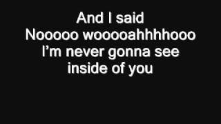 The Maine - Inside of You (Acoustic) Lyrics