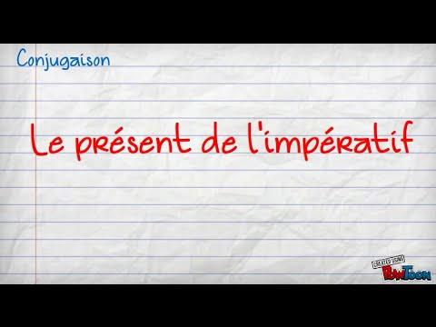Present De L Imperatif Verbes 2eme Groupe Youtube