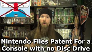 Nintendo Files Patent For a Console with no Disc Drive