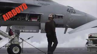Arctic Circle Flight Deck Operations USS Harry S. Truman (CVN-75)