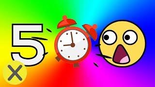 20 Cosas que no sabías hace 5 Minutos