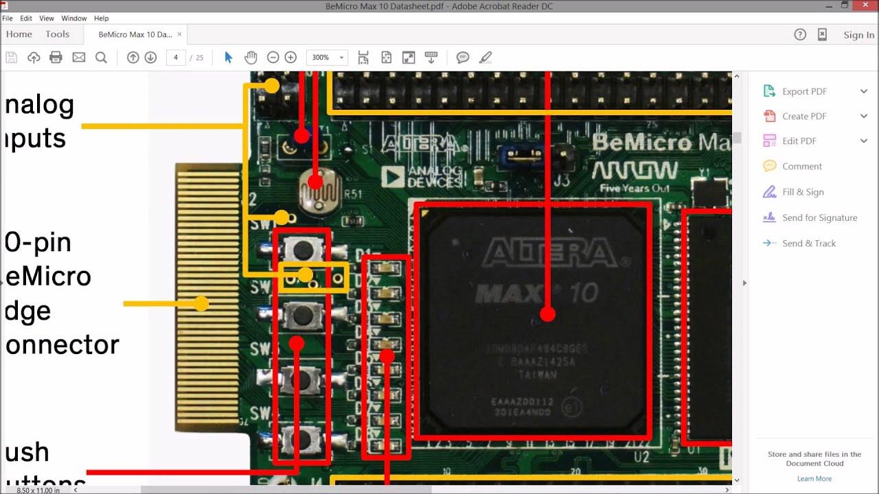 BeMicro Max 10 Setup and LED Blink Tutorial