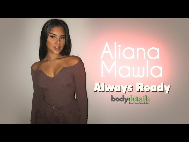 First Time Getting Laser Hair Removal | Aliana Mawla | Body Deatils