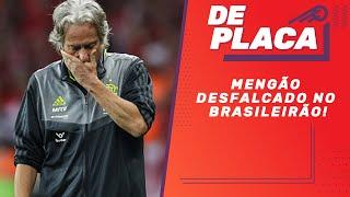 FLAMENGO sem FILIPE LUÍS, ARRASCAETA E GABIGOL e a rodada do BRASILEIRÃO   De Placa (04/10/2019)