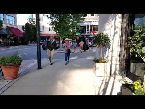 Downtown Asheville, NC on 06-03-2015