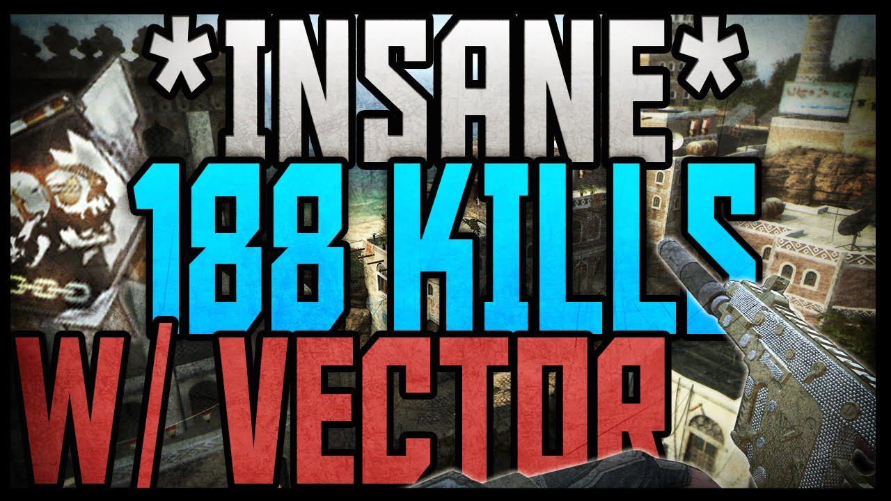 BO2: 188 KILLS W DIAMOND VECTOR ::
