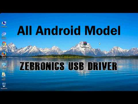 How To Install Zebronics USB Driver For All Models | Driver Android ADB Interface Drivers
