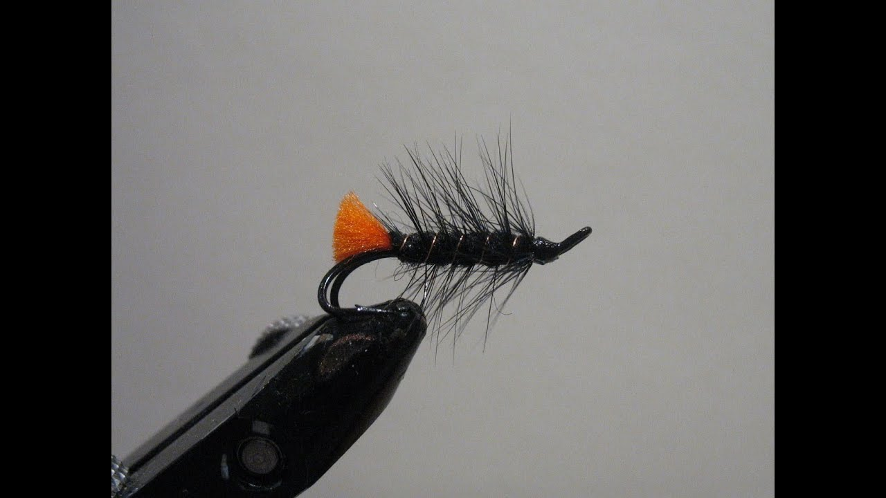 Fly Tying - Red Tag Palmer - YouTube