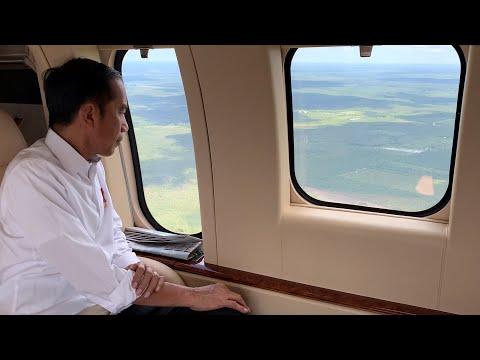 Presiden Tinjau Lokasi Calon Ibu Kota Negara di Provinsi Kalimantan Tengah