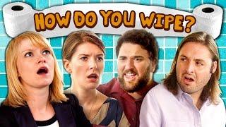 HOW DO YOU WIPE? (Sketch)