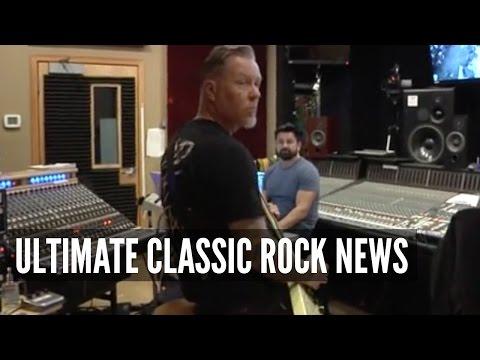 Metallica Shares New Album Recording Footage