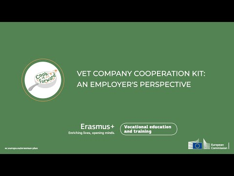 Cook It Forward: VET Company Cooperation Kit (An Employer's Perspective)