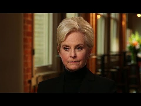 """Cindy McCain didn't know Meghan McCain would say """"America was always great"""" in tribute to her father"""