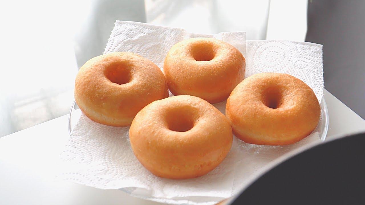 Soft And Fluffy Donuts - Cách Làm Donuts Đơn Giản (Không Lò Nướng)
