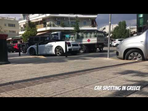 Sports cars and supercars spotted in greece!