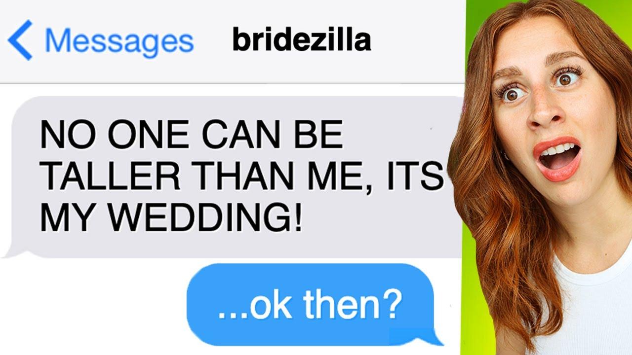 Entitled Bridezillas And Their Insane Demands - REACTION