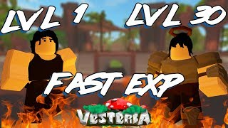 How To Level Up Faster In Vesteria | Vesteria Beta| Roblox