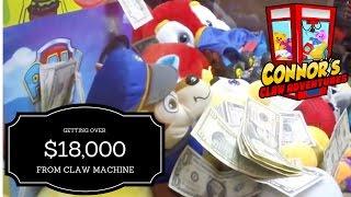 💰 BIG MONEY CLAW MACHINE!! OMG!!! You won't believe your eyes!! 💰