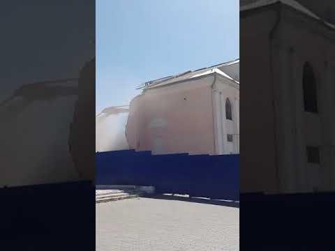 Как сносили в Улан-Удэ кинотеатр Октябрь