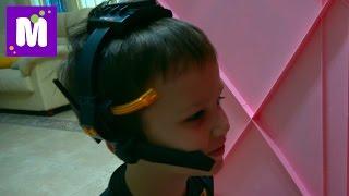 Лазерная сигнализация Рация шпиона Лазер ловушка для Мурки Разыгрываем Катю в домике и Люду