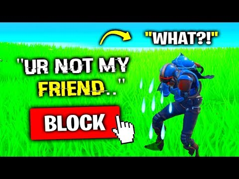 I Made My Best Friend CRY.. (Fortnite)