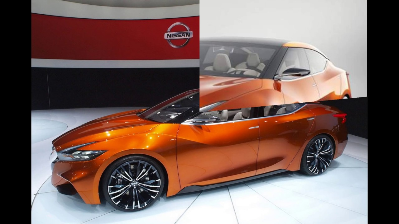Sedan 2018 Nissan Maxima Nismo Concept