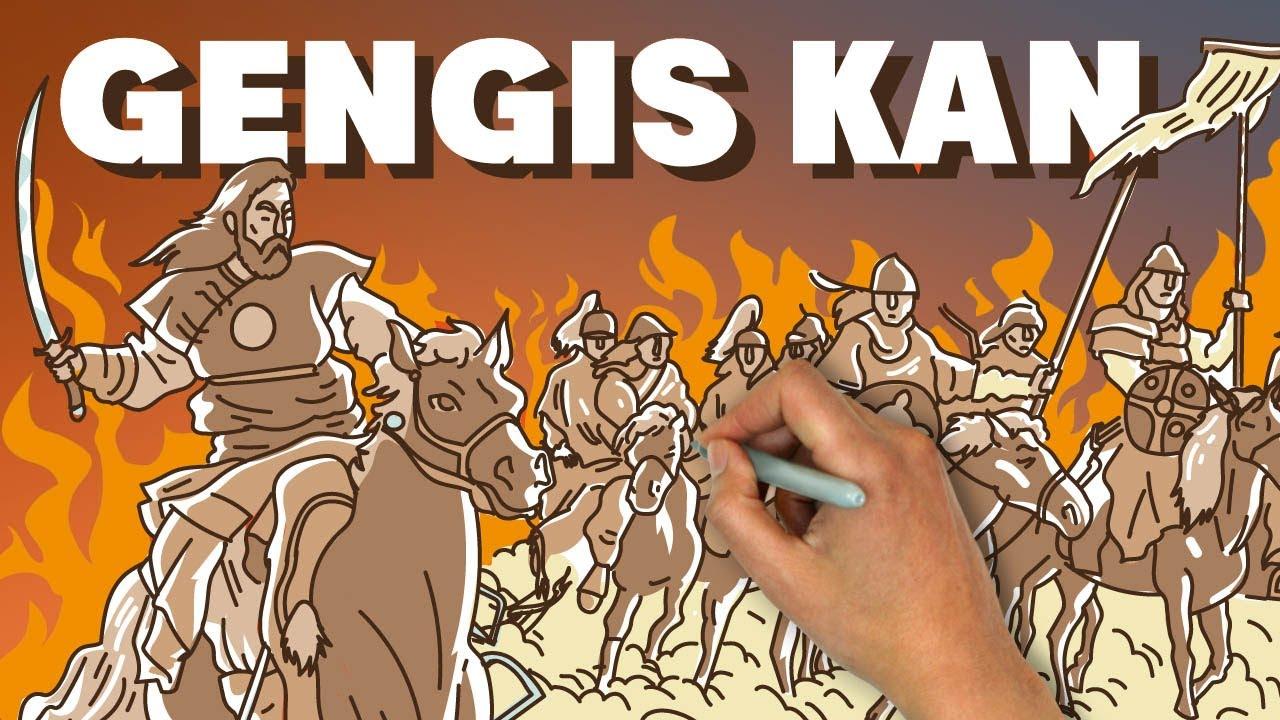 Gengis Kan y los mongoles