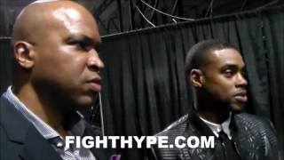 ERROL SPENCE REACTS TO KELL BROOK'S TRASH TALK; EXPLAINS CALM AND PATIENT DEMEANOR