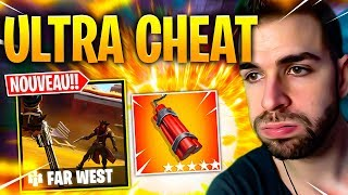🔥 LA DYNAMITE EST ULTRA CHEAT & BAN + NOUVEAU MODE FAR WEST ! Fortnite