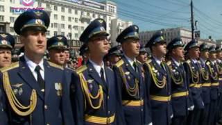 Парад Победы в Челябинске 9 мая 2017 года
