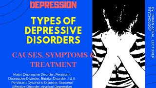 Depression | types of causes, symptoms and treatment hindi urdu