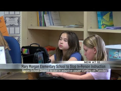 Byron Elementary School Temporarily Moves to Adaptive Learning