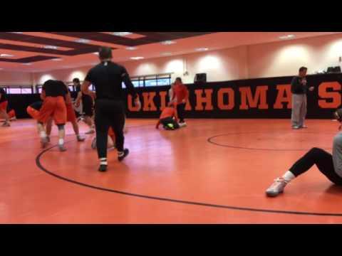 Oklahoma State Wrestling Practice 4