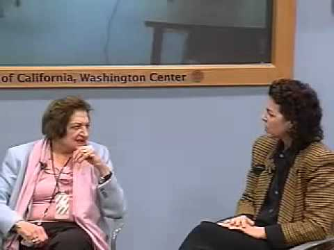 Helen Thomas and Alexis Simendinger  (March 1 2006)