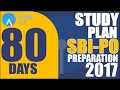 80 Days Study Plan for SBI PO 2017