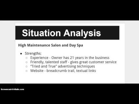 Situation Analysis and Strategy Presentation