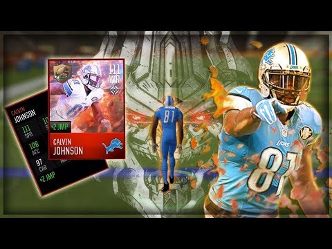 111 OVR FEAST MASTER CALVIN JOHNSON!! MEGATRON IS A GOD!! MADDEN MOBILE 18 GAMEPLAY